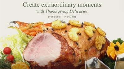Create Extraodinary Moments with Thanksgiving Delicacies